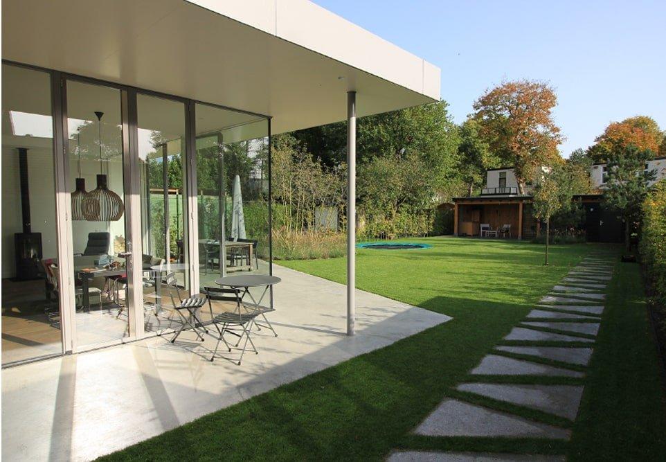 Villatuin tuinarchitectuur Bilthoven Jeroen Hamers