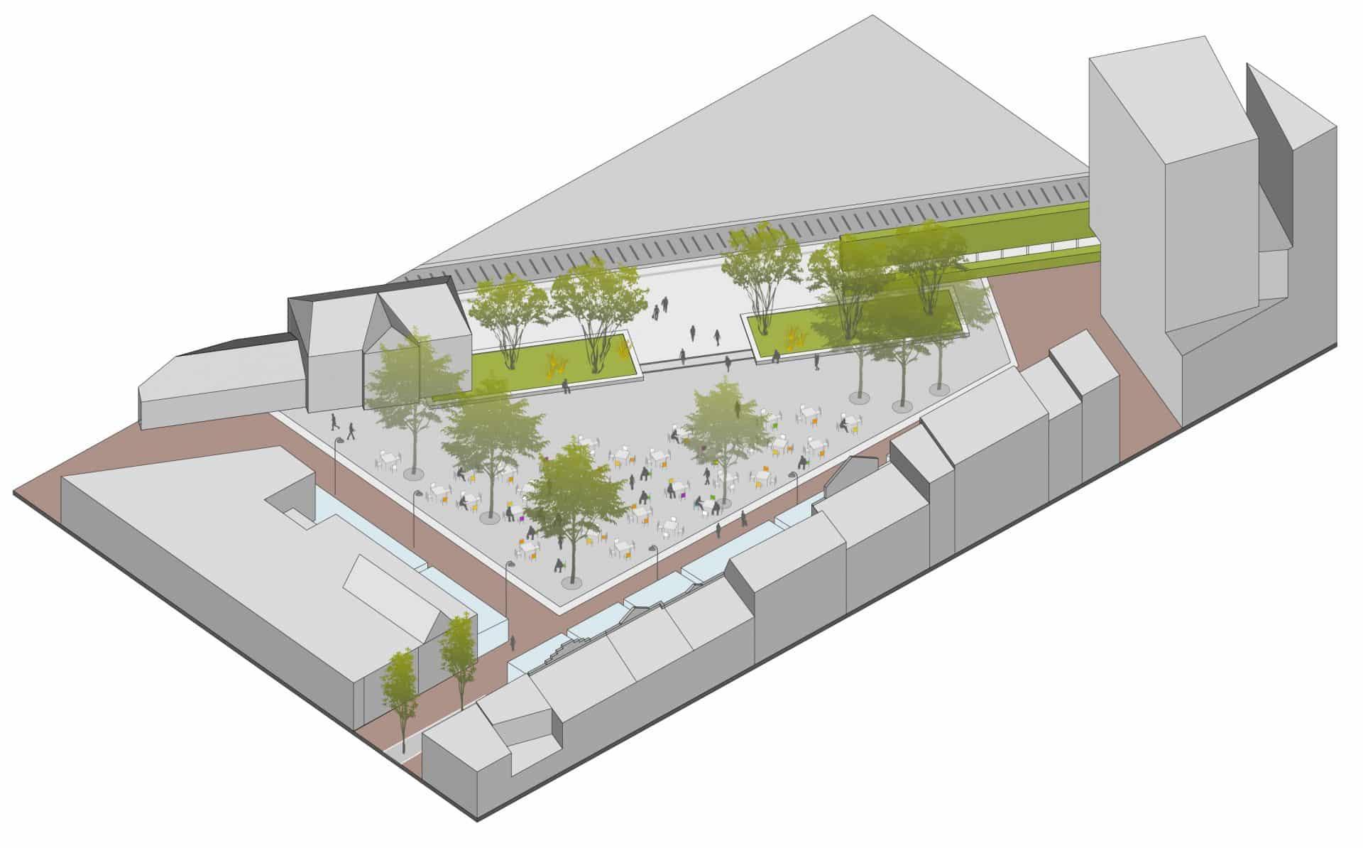 Museumplein Ede centrum