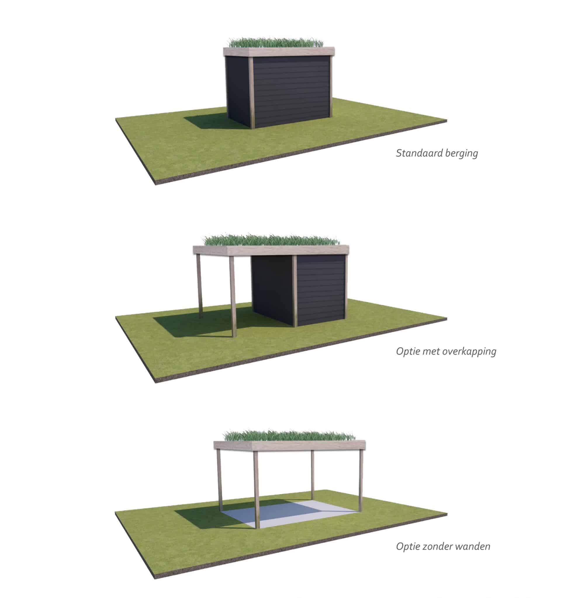 Opties bergingen groen dak Jeroen Hamers