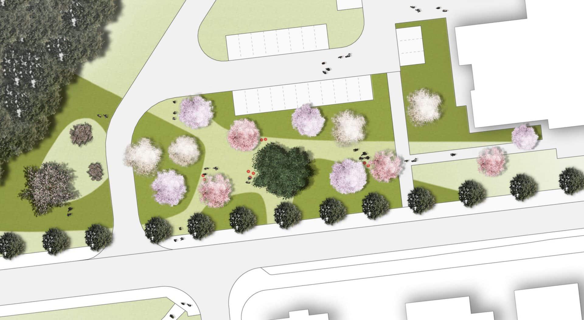 Eetbaar park gemeente Laarbeek